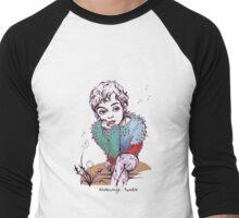 Soft as a Dandelion Men's Baseball ¾ T-Shirt