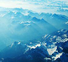 Birds View on the Alps (Velvia) by vivendulies
