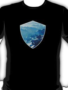 Birds View on the Alps (Velvia) T-Shirt