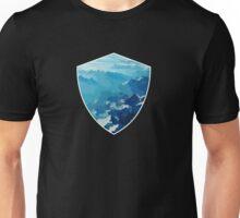 Birds View on the Alps (Velvia) VRS2 Unisex T-Shirt