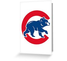 cubs Greeting Card
