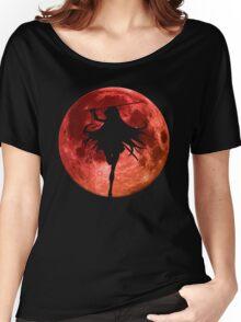 Moon Anime Manga Shirt Women's Relaxed Fit T-Shirt