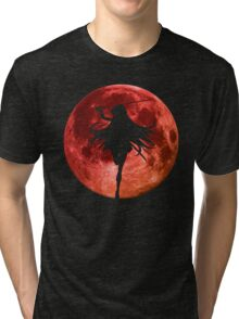 Moon Anime Manga Shirt Tri-blend T-Shirt
