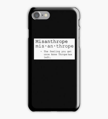 Misanthrope iPhone Case/Skin