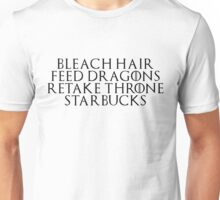 21st Century Khaleesi Business (Black TXT) Unisex T-Shirt