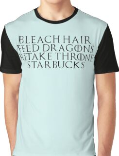 21st Century Khaleesi Business (Black TXT) Graphic T-Shirt