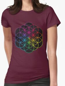 coldplay design by.damar wulan street Womens Fitted T-Shirt