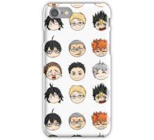 Haikyuu-Balls (Karasuno) iPhone Case/Skin