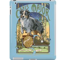 Australian Shepherd Art Nouveau Canis Major Constellation iPad Case/Skin