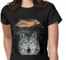 Wolfie! Womens Fitted T-Shirt