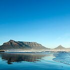 Clear Sunrise over Table Mountain by SeeOneSoul