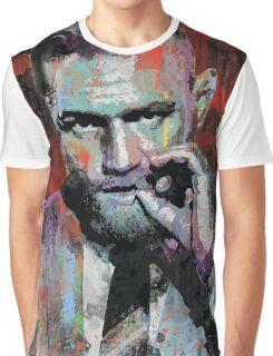 Conor McGregor, UFC Pop Art Portrait Graphic T-Shirt