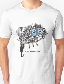 """MUSIC - """"PLUG YOURSELF IN"""" Unisex T-Shirt"""