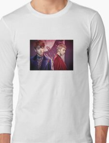 BTS Wings Jungkook & Rap Monster Long Sleeve T-Shirt