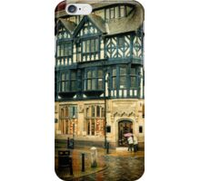 Rainy Day, Chester, England iPhone Case/Skin