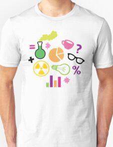 Crazy Neon Scientist Pattern Unisex T-Shirt