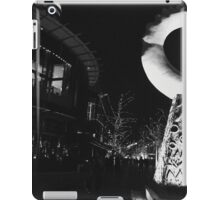 Outside the Crown Casino Melbourne  iPad Case/Skin