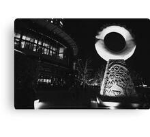 Outside the Crown Casino Melbourne  Canvas Print