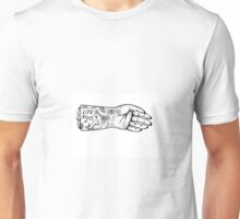 Tattoo hand Unisex T-Shirt