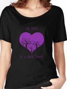 my heart is a dark forest Women's Relaxed Fit T-Shirt