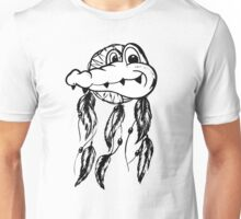 Funny Crocodile Dream Catcher Unisex T-Shirt