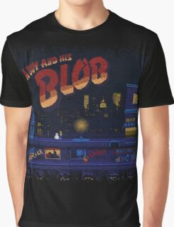 A Blob and His Boy Graphic T-Shirt