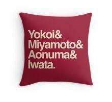 Nintenfour Throw Pillow