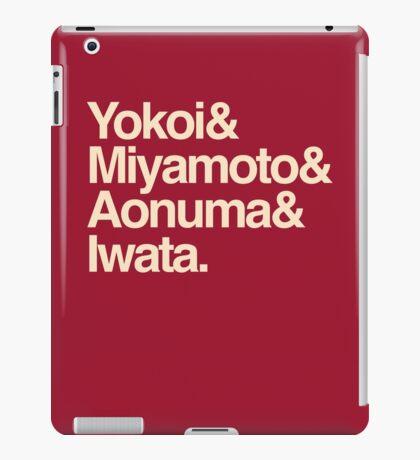 Nintenfour iPad Case/Skin
