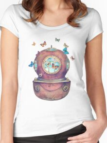 Inner Space Women's Fitted Scoop T-Shirt
