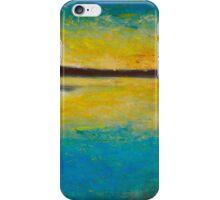 Yellow horizon iPhone Case/Skin