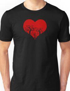 forest heart Unisex T-Shirt