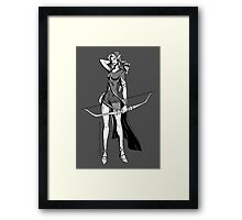 Vivandrel - Elf Framed Print