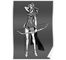 Vivandrel - Elf Poster