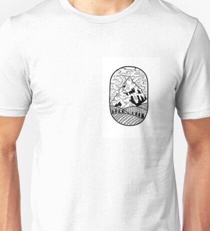 Dark mountain Unisex T-Shirt