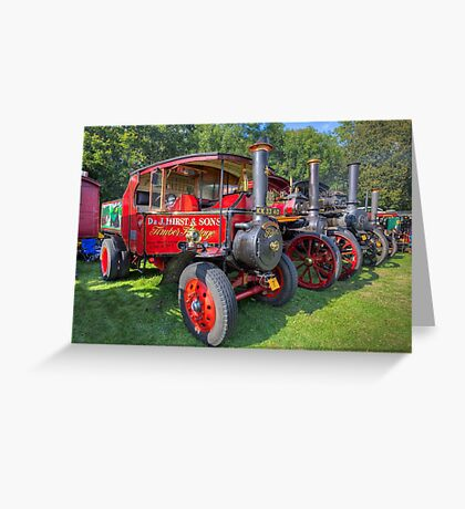 Steam Engines Greeting Card