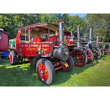 Steam Engines Photographic Print
