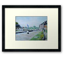 Stoke Bruerne Framed Print
