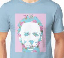 Halloween Floral Michael Myers Unisex T-Shirt