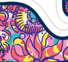 Vineyard Vines Lilly Pulitzer Purple Sticker