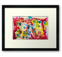 Carnival Colors  Framed Print