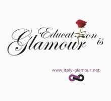 Education is Glamour - White by italy-glamour