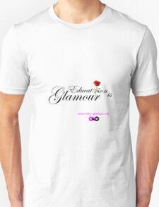 Education is Glamour - White Unisex T-Shirt