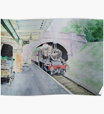 Steaming Into Rothley Poster
