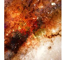 Nucleus of Galaxy Centaurus A - Watercolour Photographic Print