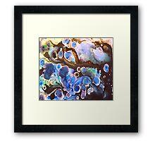 Ocean Nebula  Framed Print