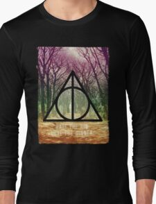 Mystic triangle tree alley Long Sleeve T-Shirt