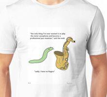Tiny Sax - Tiny Snek Comics Unisex T-Shirt