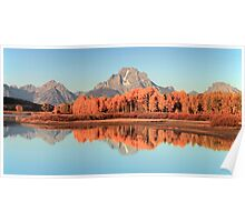 Oxbow Autumn Poster