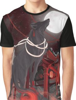 Loup noir Graphic T-Shirt