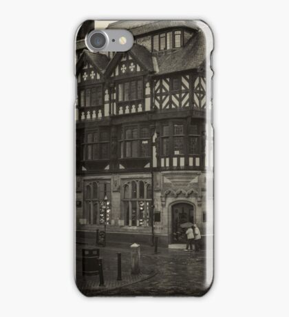 Rainy Day, Chester, England #2 iPhone Case/Skin